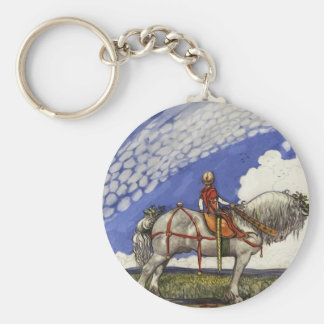 Into the Wide Wide World Keychain