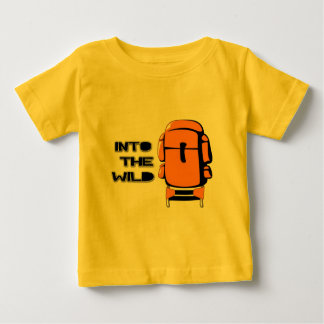 Into The Wild Backpack Baby T-Shirt