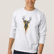 Into the Wild: handmade, digitally edited artwork Sweatshirt