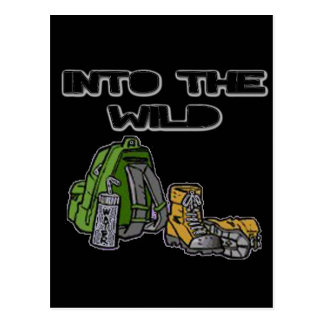 Into The Wild Postcard