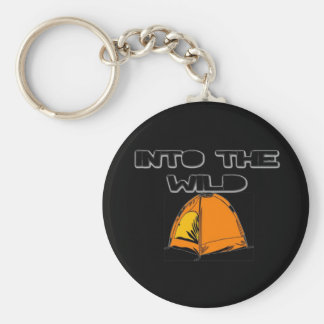 Into The Wild Tent Keychain