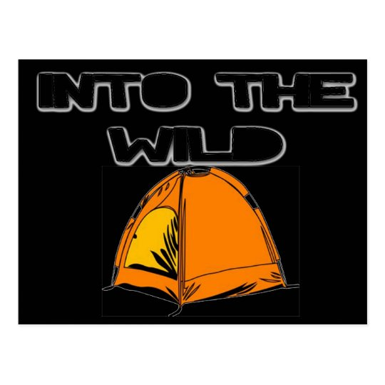 Into The Wild Tent Postcard