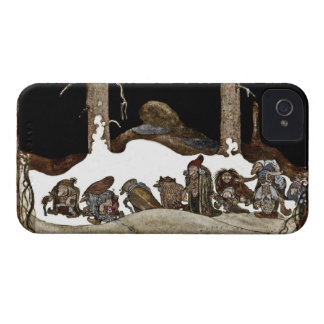 Into the Winter Night iPhone 4 Case-Mate Cases