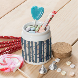 Into the Woods blue Candy Jar