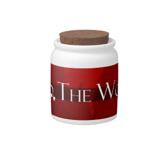 Into the Woods Fairy Tale Forest Scene Candy Jars