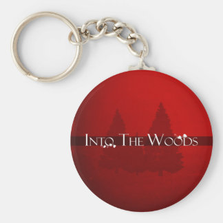 Into the Woods Fairy Tale Forest Scene Key Chains