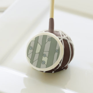 Into the Woods green Cake Pops