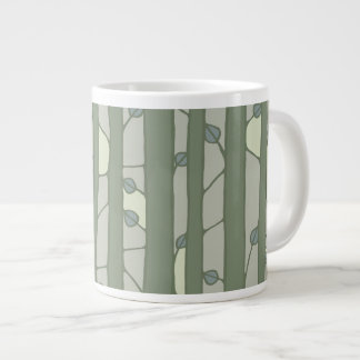 Into the Woods green Jumbo Mug