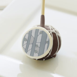Into the Woods grey Cake Pops