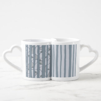 Into the Woods grey Lovers Mug Set