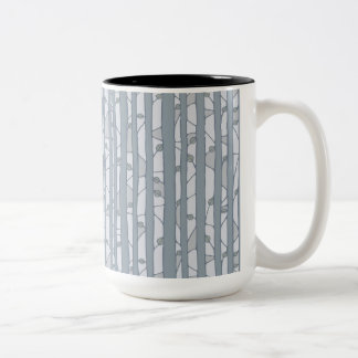Into the Woods grey RInger Mug