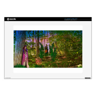 Into the woods laptop skins