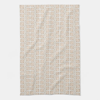 Into the Woods Leaves cream Kitchen Towel