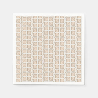 Into the Woods Leaves cream Paper Napkins