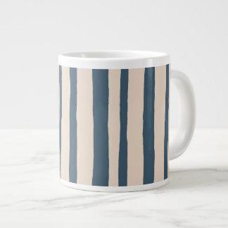 Into the Woods Stripes blue Jumbo Mug