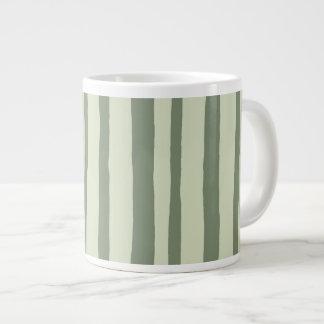 Into the Woods Stripes green Jumbo Mug