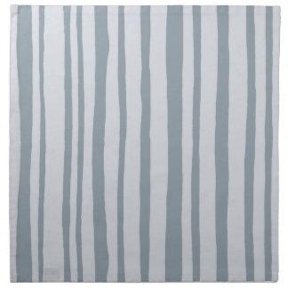 Into the Woods Stripes grey Cloth Napkins