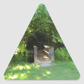 Into the Woods Triangle Sticker