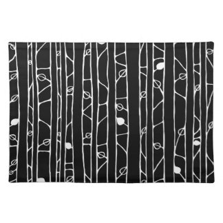 Into the Woods white Placemats
