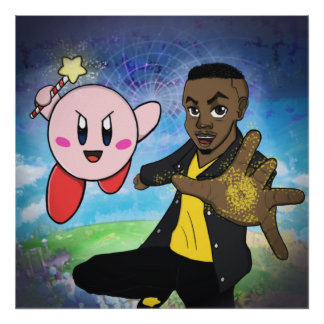 Into the World of Kirby Poster
