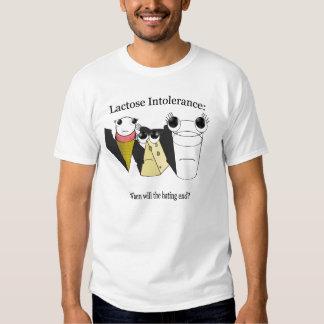 Intolerancia a la lactosa remeras