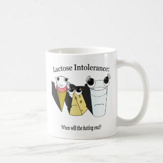 Intolerancia a la lactosa taza