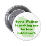 Intolerancia del caminante de Scott Pin