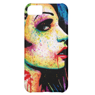 Intoxicated Pop Art Portrait Cover For iPhone 5C