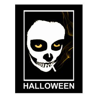 intoxicating death halloween postcard