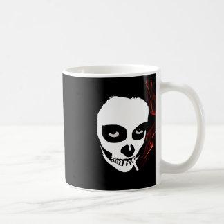 intoxicating death classic white coffee mug