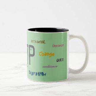 INTP - Customized Two-Tone Coffee Mug