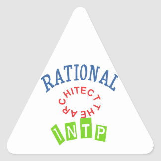 INTP Rationals Personality Triangle Sticker