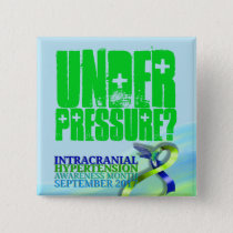 Intracranial Hypertension Awareness Month 2017 Pinback Button