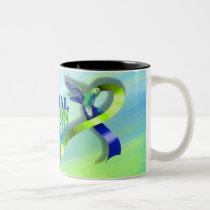 Intracranial Hypertension Awareness Month 2017 Two-Tone Coffee Mug