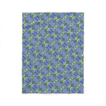 Intracranial Hypertension Fleece Blanket