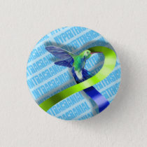 Intracranial Hypertension Pinback Button