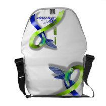 Intracranial Hypertension Warrior Courier Bag