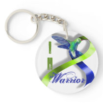 Intracranial Hypertension Warrior Keychain