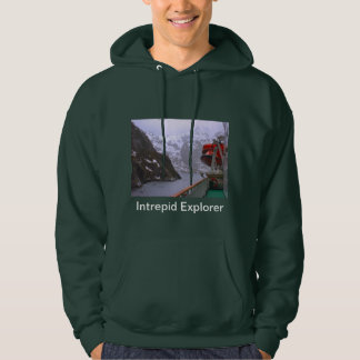 Intrepid explorer, Norwegian voyage Hoodie