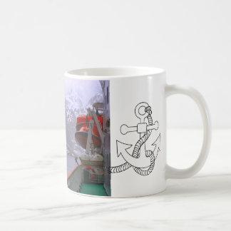 Intrepid explorer, Norwegian voyage Classic White Coffee Mug