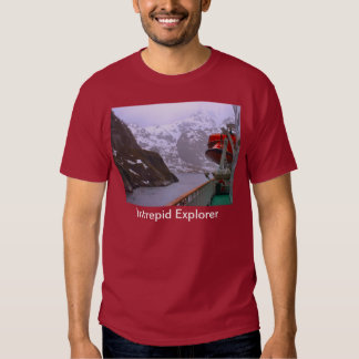 Intrepid explorer, Norwegian voyage Tshirts