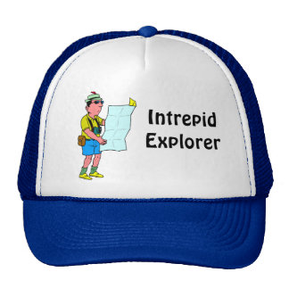 INtrepid explorer Trucker Hat