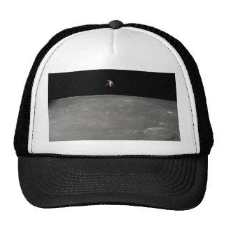Intrepid Landing on Moon Mesh Hat