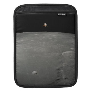 Intrepid Landing on Moon iPad Sleeves