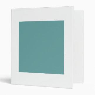 "Intrépido azulverde de la turquesa carpeta 1"""