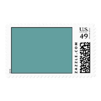 Intrépido azulverde de la turquesa sellos