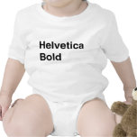 Intrépido Helvética Trajes De Bebé
