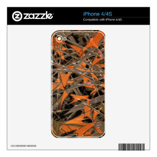 Intricate Abstract Print Skin For iPhone 4S