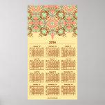 Intricate Arabesque, 2014 wall calendar Poster