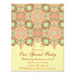 Intricate Arabesque, 4.25x5.5 customizable Invitation